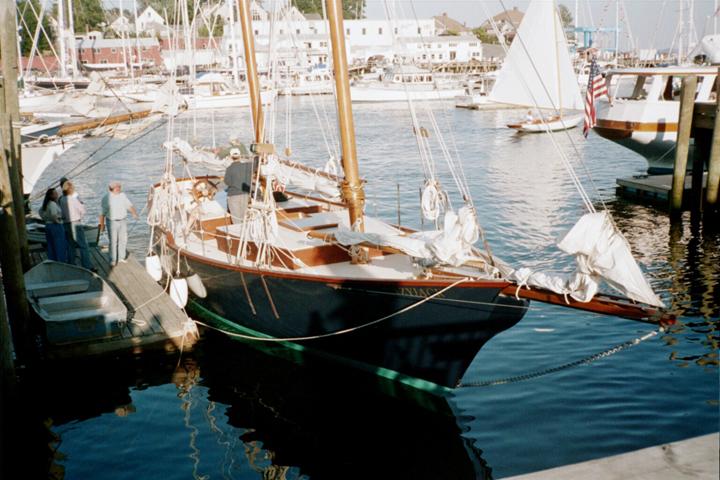 Schooner Lazy Jack II, Camden, Maine sailing