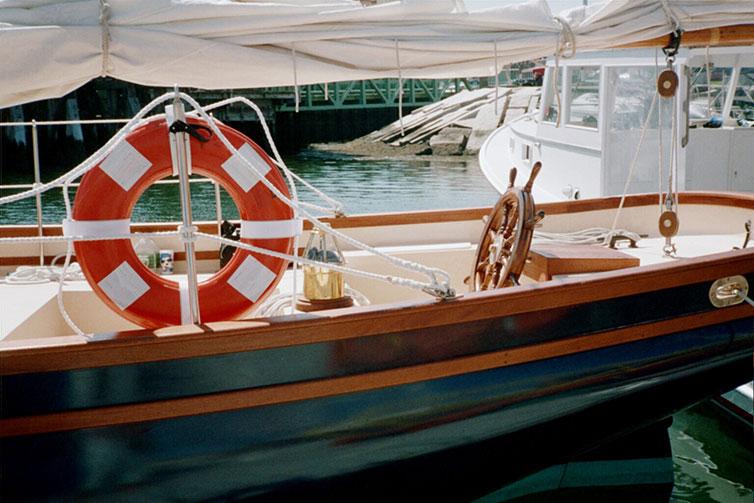 Schooner Lazy Jack II - sailing Camden, Maine