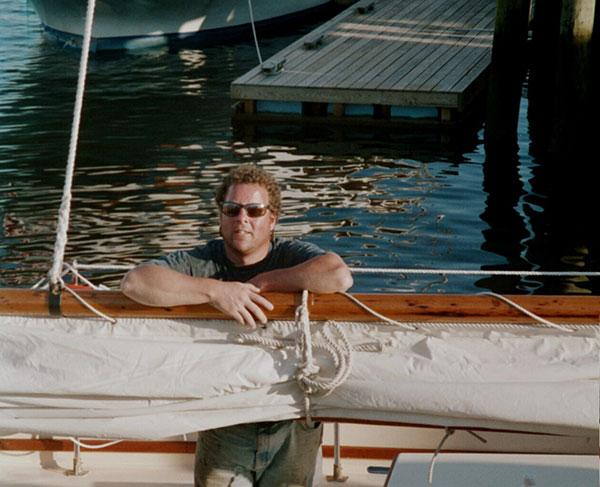 Schooner Lazy Jack II sailing Camden, Maine