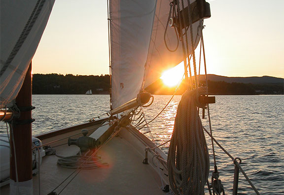Frequently asked questions about sailing.