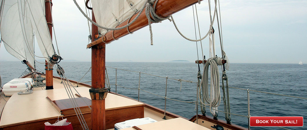 Sail with us on beautiful Penobscot Bay!
